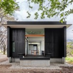 Blackened timber retreat by Studio Aula built in the woods outside Tokyo