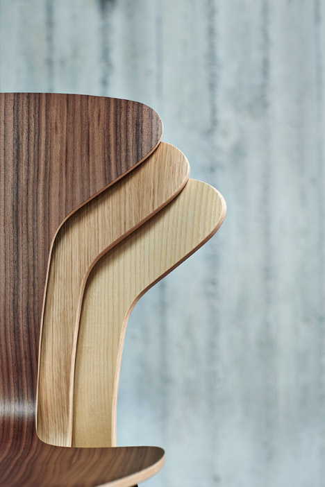 Munkegaard chair by Arne Jacobsen