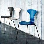 Arne Jacobsen's Munkegaard chair reintroduced by Howe