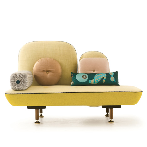 My Beautiful Backside sofa by Doshi Levien for Moroso