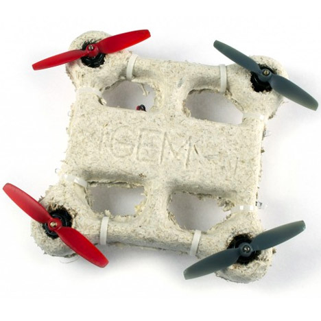 Mycelium biological drone