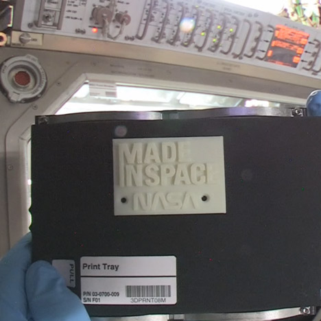 NASA 3D prints aboard the International Space Station