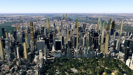 New York's 2018 skyline