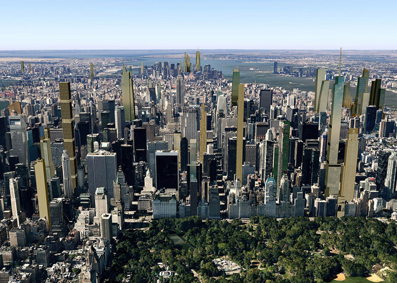 New York's 2018 skyline