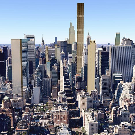 New York's 2018 skyline revealed in visualisations