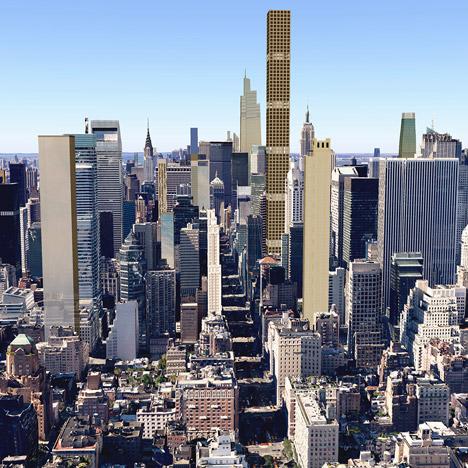 New York's 2018 skyline revealed in visualisations
