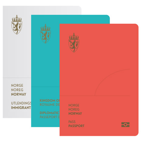Norwegian travel documents given a minimal makeover