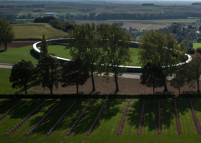 Notre Dame de Lorette international memorial by Philippe Prost