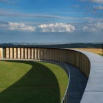 Philippe Prost's elliptical concrete memorial marks the centenary of World War I