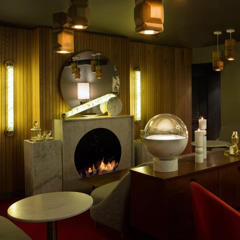Lee Broom pairs oak and marble for prostitution-themed London restaurant