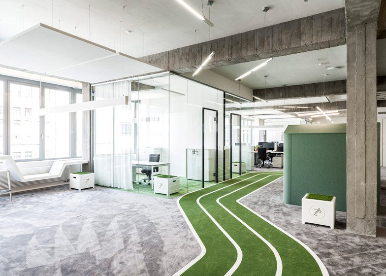 Onefootball HQ by TKEZ Architects