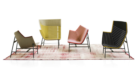 Paper Planes by Doshi Levien for Moroso