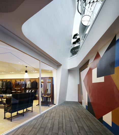 Paul Smith store by the System Lab