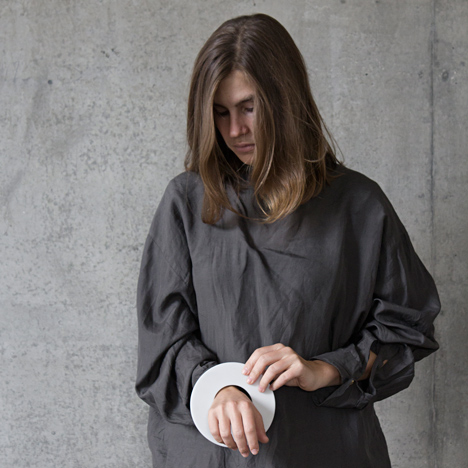 Marina Stanimirovic launches jewellery made from Corian and gold