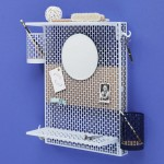 Inga Sempé's modular pinboard for Hay tidies away small items
