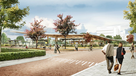 Powerhouse Company and De Zwarte Hond win Assen Station project