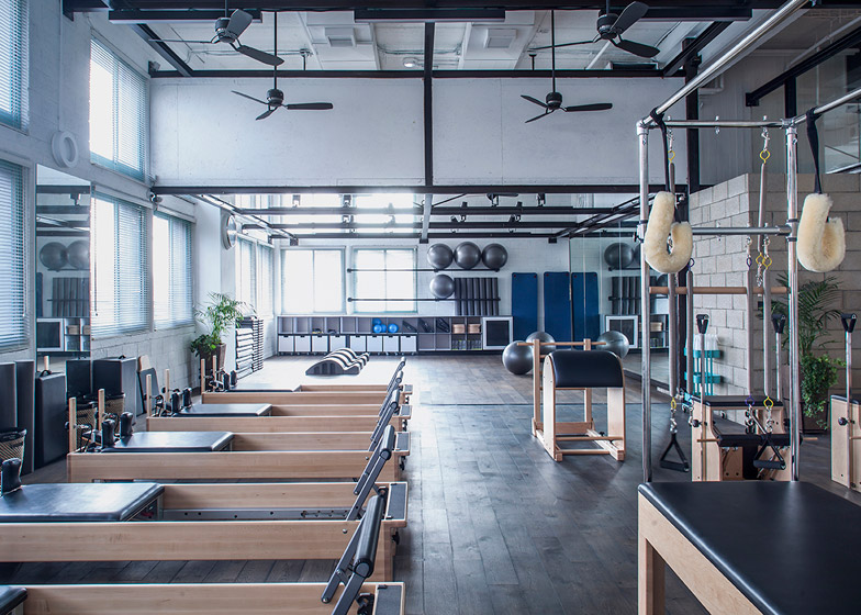 architectural design studio address. 12 of  Powerhouse Pilates Studio for Paralympic swimming champion by Jacobs Yaniv Architects designs pilates studio swimmer