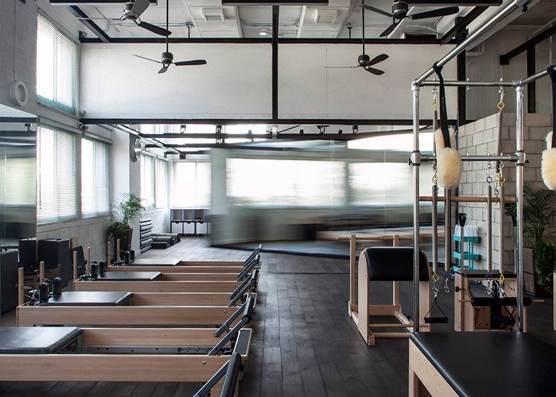 Powerhouse Pilates Studio for Paralympic swimming champion by Jacobs Yaniv Architects