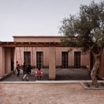 Mud bricks and woven rattan used to build an affordable preschool in Morocco