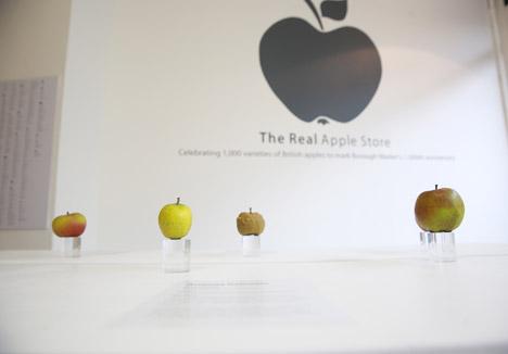 Real Apple Store at Borough Market