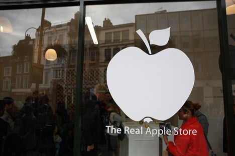 Real Apple Store at Borough Market