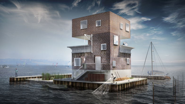 Remodeling an old observation tower by Moko Architects