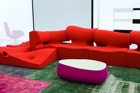 Misfits by Ron Arad for Moroso
