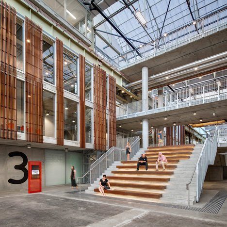 "MPH Architects transforms ""magnificent"" former car factory into education centre"