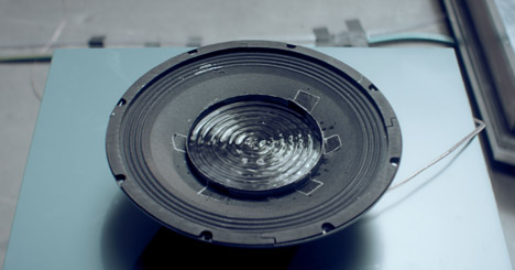 Nigel Stanford makes sound visible for Cymatics music video