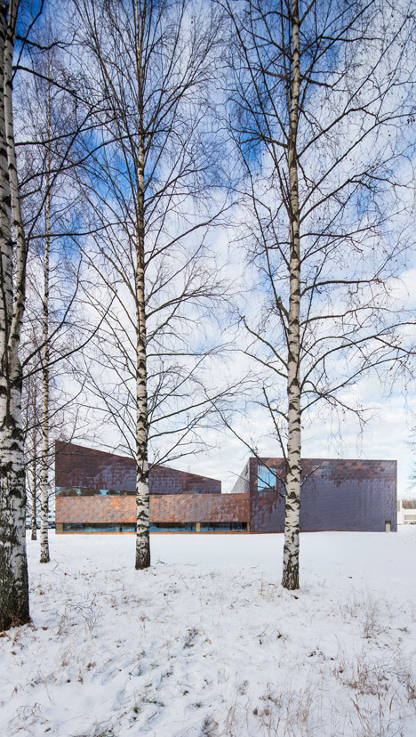 Seinäjoki Public Library and Provincial Library, Apila by JKMM Arkkitehdit