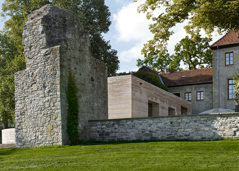Sparrenburg visitor centre by Max Dudler