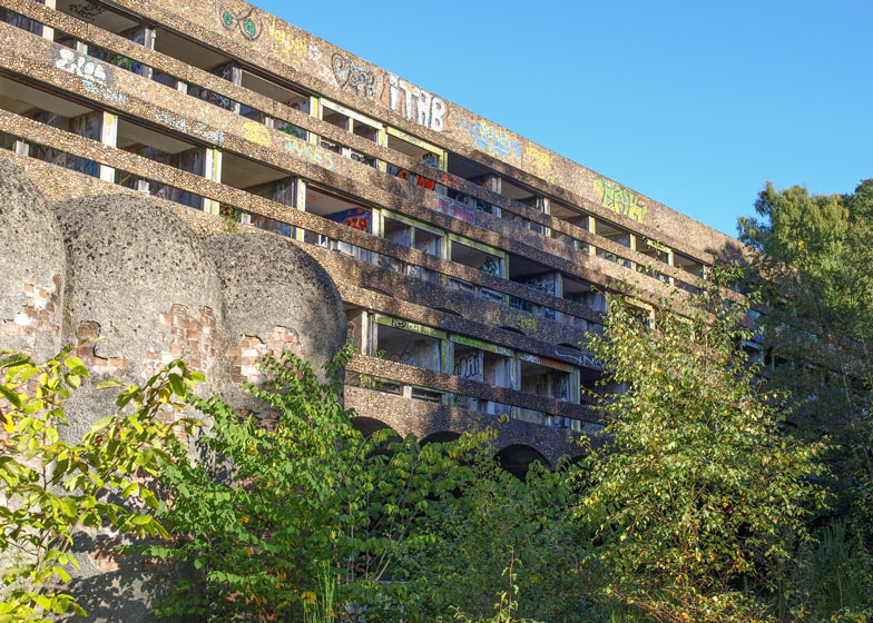 St Peter's Seminary in Cardross by Gillespie Kidd & Coia