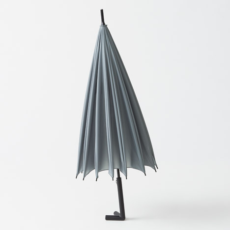 Nendo's Stay-brella stands up unassisted