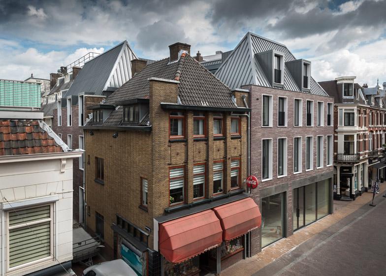 Steenweg Utrecht by Dreessen Willemse Architecten