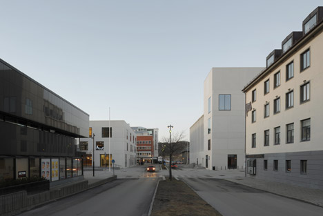 Stormen cultural centre in Bodø by DRDH