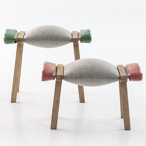 Sugar stool by Raw Edges for Moroso
