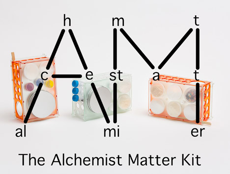 The Alchemist Matter Kit by Laurence Humier