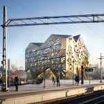 Jewel-inspired office block by Utopia Arkitekter to be built next year in Sweden