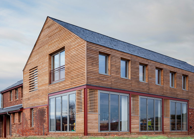 Timber Frame House in Leighton Buzzard by A-Zero