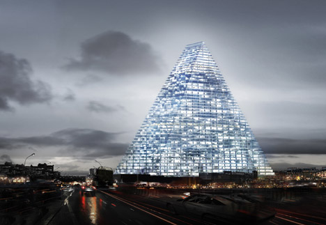 Tour Triangle by Herzog & de Meuron