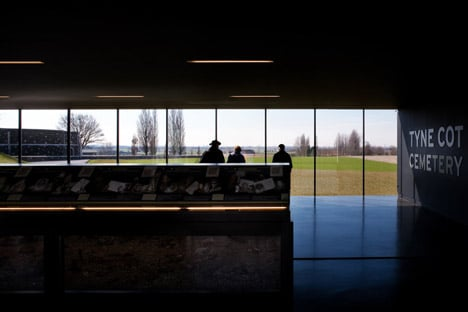 Tyne Cote Cemetery entrance pavilion by Govaert and Vanhoutte architectuurburo