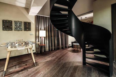 Xintiandi Penthouse by Joyce Wang