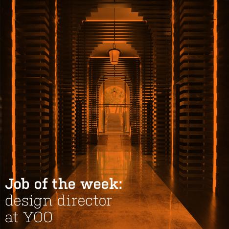 Job of the week: design director at YOO