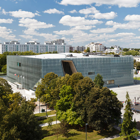 Museum of the History of Polish Jews by Lahdelma Mahlamaki Architects