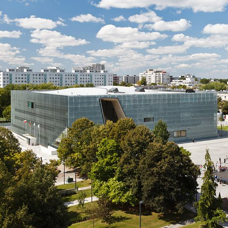 Jewish history museum in Warsaw wins first Finlandia Prize for Architecture