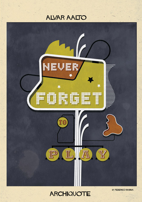 Archiquote by Federico Babina