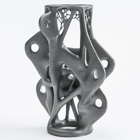 "3D-printed structural components will lead to ""new building shapes"""