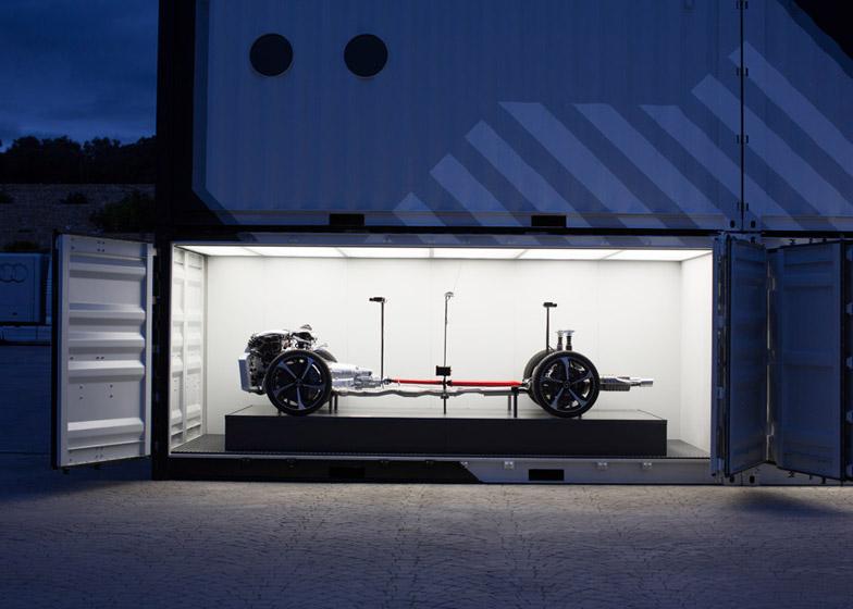 Audi's concept RS 7 driverless car