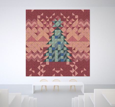 Designer Christmas cards 2014