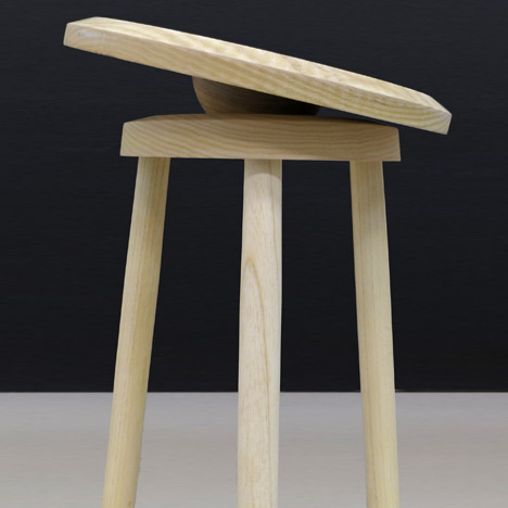 Work out at your desk with Darryl Agawin's Balance Stool